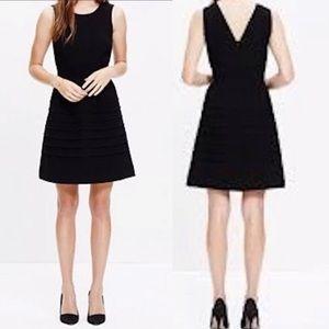 Madewell Midnight dress in black